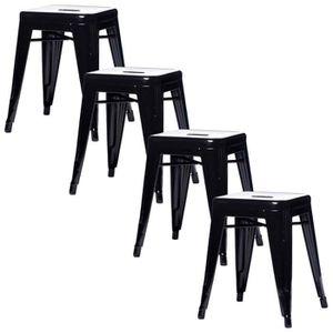 tabouret metal bas achat vente tabouret metal bas pas. Black Bedroom Furniture Sets. Home Design Ideas