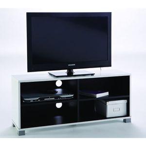 meuble tv 80 cm achat vente meuble tv 80 cm pas cher les soldes sur cdiscount cdiscount. Black Bedroom Furniture Sets. Home Design Ideas