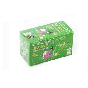 Infusettes de Thé vert Sencha Japon - boîte 32g
