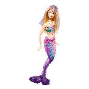 Poup e barbie sir ne violette achat vente poup e cdiscount - Barbie sirene couleur ...