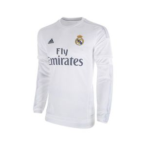 MAILLOT DE FOOTBALL Maillot Real Madrid Domicile Manches Longues 2015/
