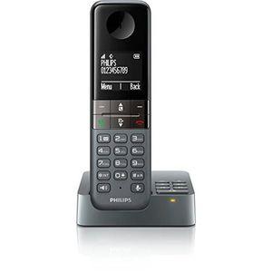 Téléphone fixe PHILIPS D4551DG/FR  TÉLÉPHONE SANS FIL DECT SOLO A