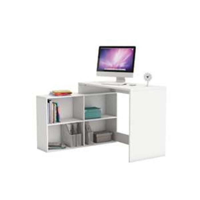 bureau d 39 angle blanc informatique achat vente meuble informatique bu. Black Bedroom Furniture Sets. Home Design Ideas