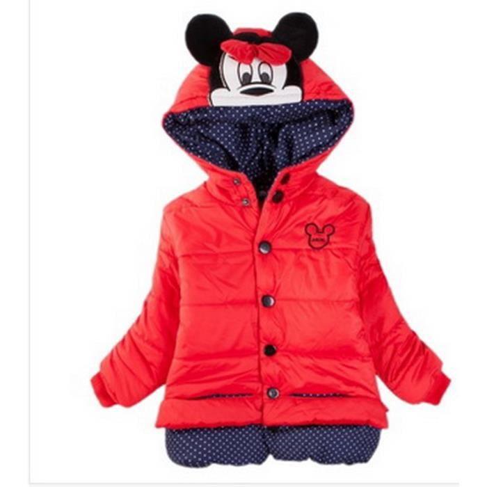 2 ans doudoune manteau blouson veste capuche minnie mouse. Black Bedroom Furniture Sets. Home Design Ideas