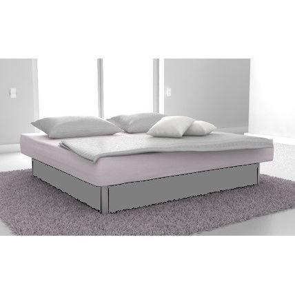 lit a eau open confort dual 180x200 couleur gris achat. Black Bedroom Furniture Sets. Home Design Ideas