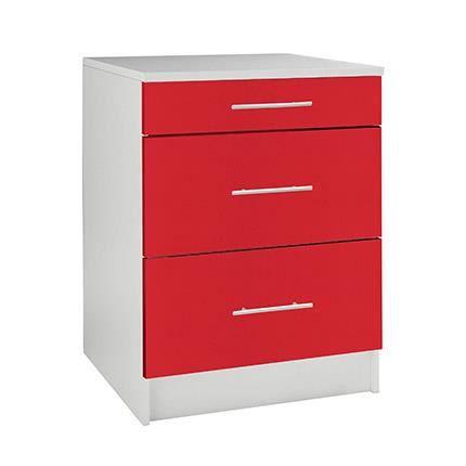 bas largeur 60cm profondeur 47cm casserolier 3 achat vente elements bas bas largeur 60cm. Black Bedroom Furniture Sets. Home Design Ideas