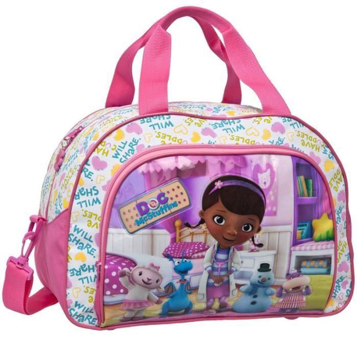 sac de voyage enfant doc mcstuffins 40cm achat vente sac de voyage sac de voyage enfant doc. Black Bedroom Furniture Sets. Home Design Ideas