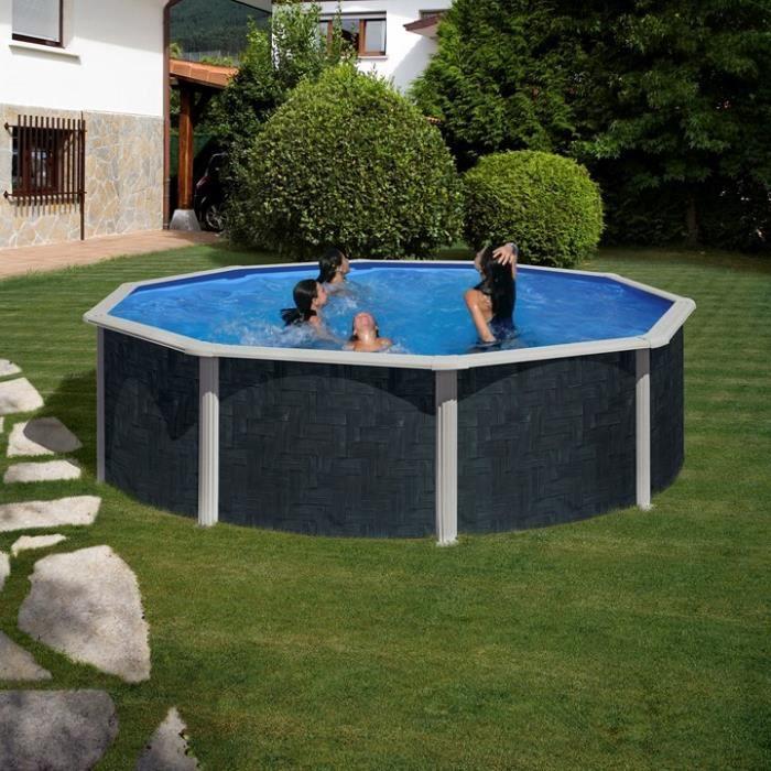 Piscine hors sol for Liner piscine hors sol diametre 4 60