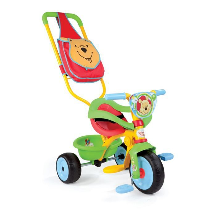 winnie l 39 ourson tricycle be move confort 3032164441884. Black Bedroom Furniture Sets. Home Design Ideas