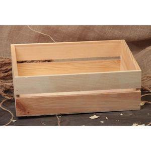 petite caisse en bois brut d corer ou peindre achat vente objet d coratif les soldes. Black Bedroom Furniture Sets. Home Design Ideas