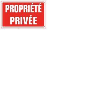 Plaque propriete privee achat vente plaque propriete privee pas cher so - Vente privee cdiscount ...