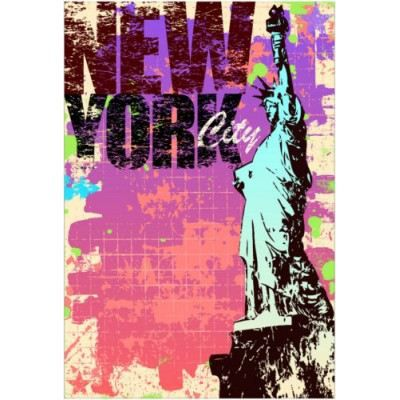 Sticker d coration murale ville new york city achat for Decoration murale new york