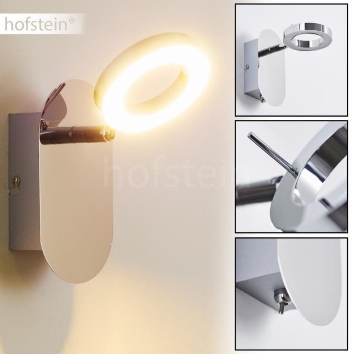 Applique murale led lampe de corridor spot chrome achat for Applique murale 2 spots