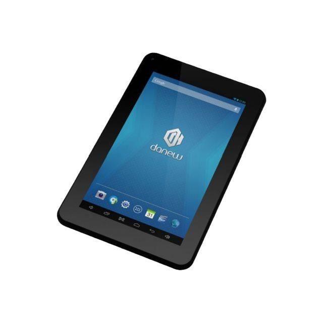 danew tablette tactile pack auto 708 noir prix pas cher soldes cdiscount. Black Bedroom Furniture Sets. Home Design Ideas