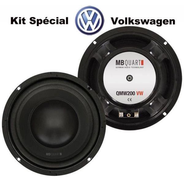woofer sp cifique pour volkswagen golf 4 golf haut parleur voiture prix pas cher cdiscount. Black Bedroom Furniture Sets. Home Design Ideas