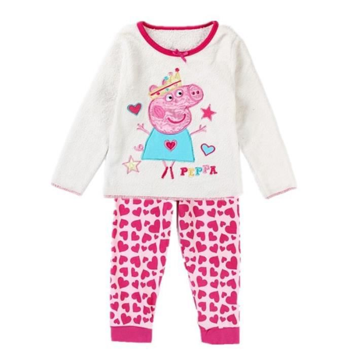 pyjama peppa pig 2 3 ans achat vente pyjama chemise de nuit 2009911730189 cdiscount. Black Bedroom Furniture Sets. Home Design Ideas