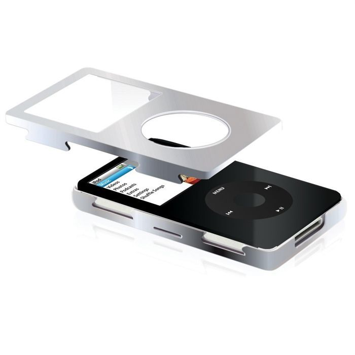 Gear4 ivak silver pour ipod classic 80 120go housse for Housse ipod classic