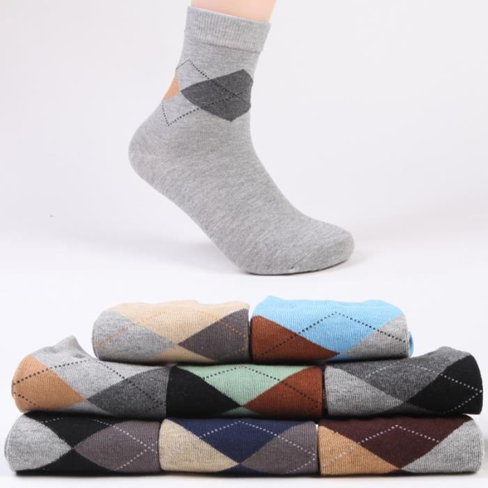 chaussettes homme coton l 39 automne et l 39 hiver lot de 8 achat vente chaussettes 2009821570189. Black Bedroom Furniture Sets. Home Design Ideas