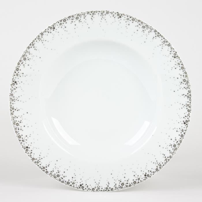 table passion assiette creuse 22 cm borealis achat vente assiette service cadeaux. Black Bedroom Furniture Sets. Home Design Ideas
