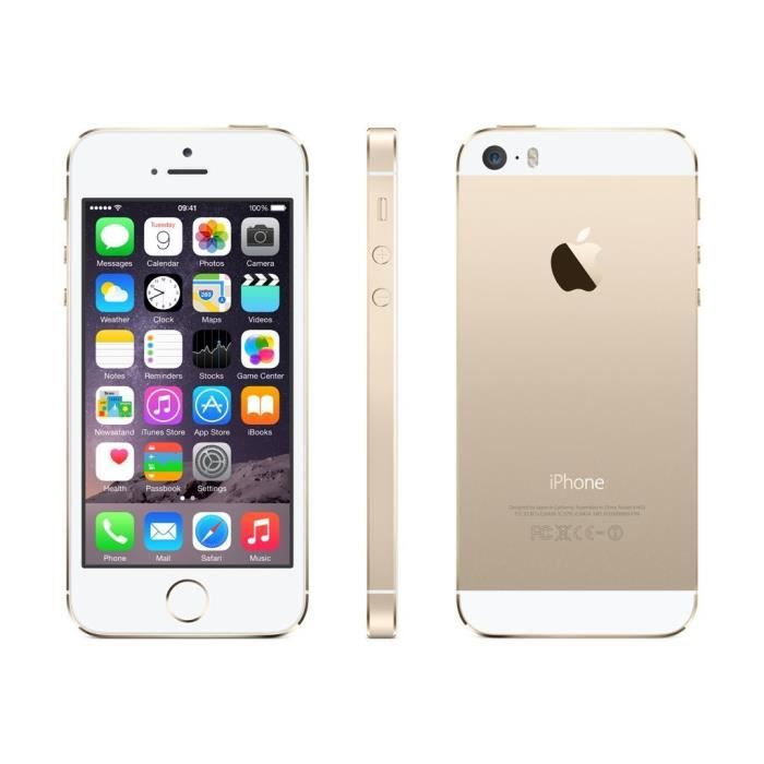 apple iphone 5s 16go reconditionn or remis a neuf smartphonespaschers. Black Bedroom Furniture Sets. Home Design Ideas