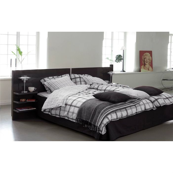 t te de lit 180 cm achat vente t te de lit t te de lit 79 180 cm blanc cdiscount. Black Bedroom Furniture Sets. Home Design Ideas