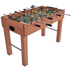 baby foot de table de football boules jeu de caf 233 jouet en bois 121 x 61 x 79cm achat vente