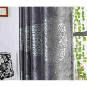 rideaux oriental achat vente rideaux oriental pas cher cdiscount. Black Bedroom Furniture Sets. Home Design Ideas
