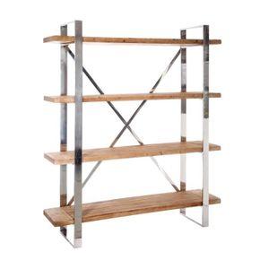 Bureau etagere bois achat vente bureau etagere bois - Etagere bois metal pas cher ...
