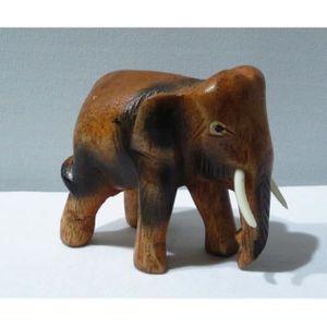 statue elephant bois achat vente statue elephant bois pas cher cdiscount. Black Bedroom Furniture Sets. Home Design Ideas