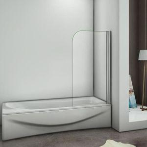pare baignoire achat vente pare baignoire pas cher cdiscount. Black Bedroom Furniture Sets. Home Design Ideas