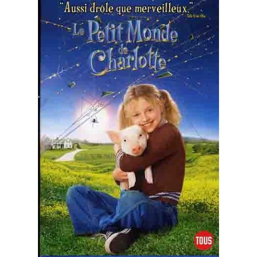 Le petit monde de charlotte en dvd film pas cher cdiscount - Le monde de charlotte ...
