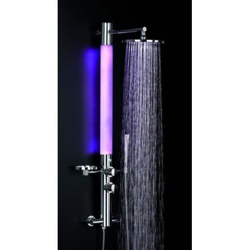 Colonne de douche lumineuse valentin gamme ozone achat vente colonne de douche colonne de Solde colonne de douche