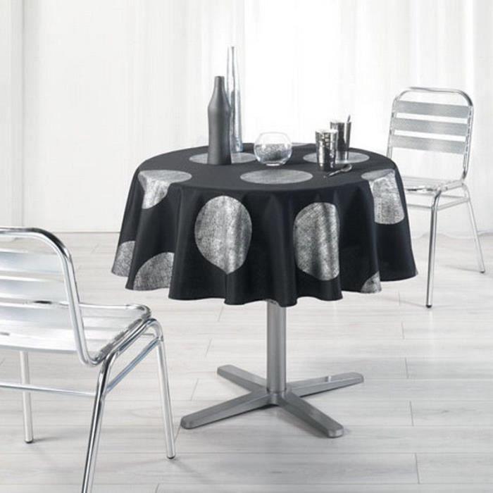 nappe ronde tissu ustensiles de cuisine. Black Bedroom Furniture Sets. Home Design Ideas