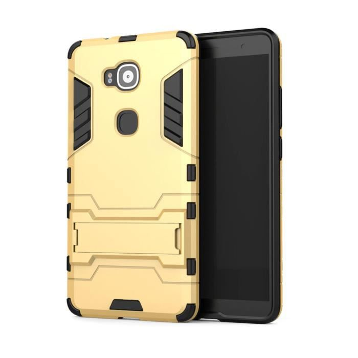 leathlux coque tui pour huawei ascend mate 8 hybride robuste b quille pliable 2in1 pc tpu. Black Bedroom Furniture Sets. Home Design Ideas