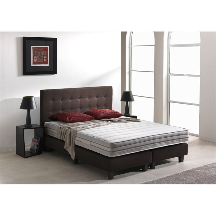 divin matelas 140x190 cm ressorts ferme 744 ressorts ensach s et 50 kg m3 2 personnes. Black Bedroom Furniture Sets. Home Design Ideas