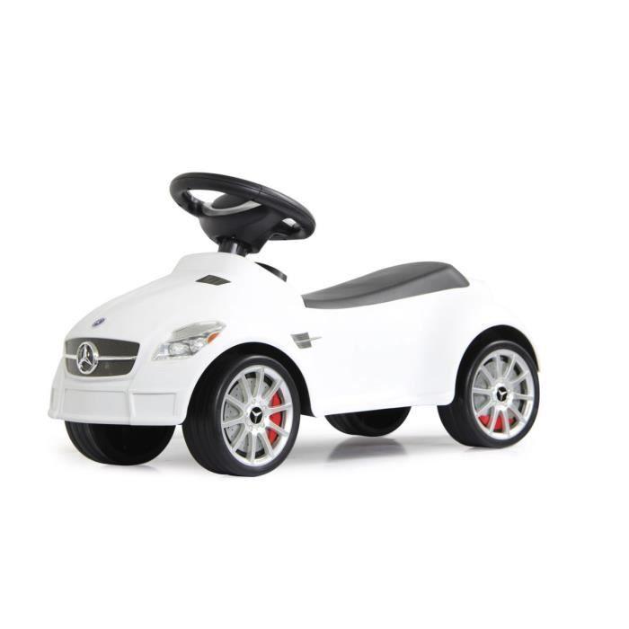petit porteur pousseur trotteur voiture mercedes slk55amg blanc achat vente porteur. Black Bedroom Furniture Sets. Home Design Ideas