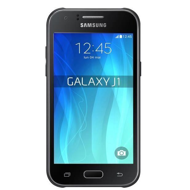 samsung galaxy j1 noir achat smartphone pas cher avis et meilleur prix cdiscount. Black Bedroom Furniture Sets. Home Design Ideas