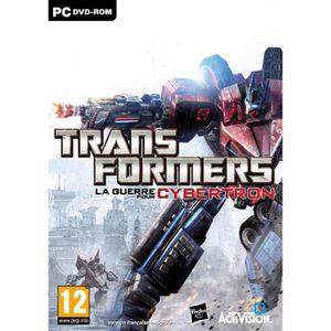 JEU PC TRANSFORMERS : La guerre pour Cybertron / PC