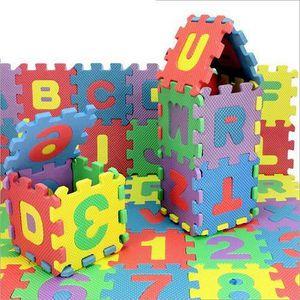 TAPIS ÉVEIL - AIRE BÉBÉ 36pcs / set Puzzle souples en mousse EVA Kids Play