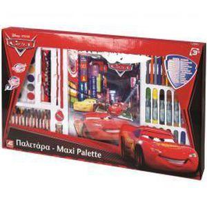 coffret coloriage maxi palette cars disney achat vente kit de
