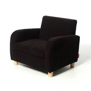 Fauteuil tissu enfants achat vente fauteuil tissu enfants pas cher cdis - Fauteuil enfant noir ...