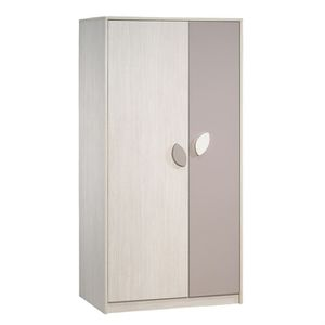Armoire taupe achat vente armoire taupe pas cher cdiscount - Armoire enfant taupe ...