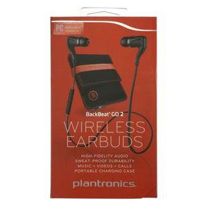 CASQUE - ÉCOUTEUR AUDIO Plantronics BackBeat Go 2 Wireless + Portable Char