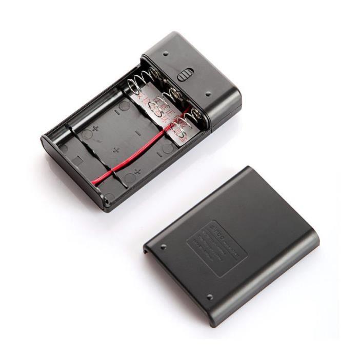 3 18650 chargeur de batterie de la banque de poche pour. Black Bedroom Furniture Sets. Home Design Ideas