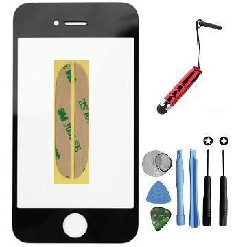 vitre apple iphone 4s noir kit outils stylet offert pour reparer votre ecran lcd achat ecran. Black Bedroom Furniture Sets. Home Design Ideas