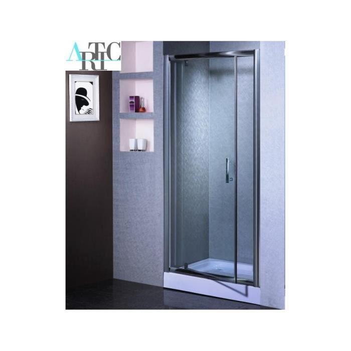 paroi de douche noumea 100 185 cm achat vente cabine de douche paroi de douche noumea 100. Black Bedroom Furniture Sets. Home Design Ideas