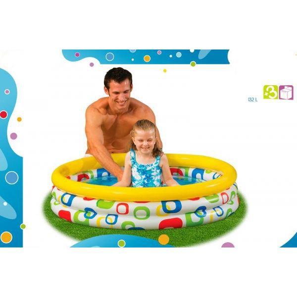 Jeux d 39 eau piscine pour enfant 114cm achat vente for Piscine enfant
