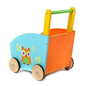 chariot de marche en bois achat vente jeux et jouets pas chers. Black Bedroom Furniture Sets. Home Design Ideas