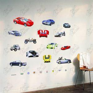 stickers muraux enfant voiture achat vente stickers muraux enfant voiture pas cher cdiscount. Black Bedroom Furniture Sets. Home Design Ideas