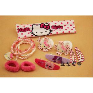 TATOO - BIJOU DE CORPS Hello Kitty coffret de accessoires de cheveux fill